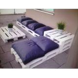 palets mueble de jardin o balcones excelente fabr - Muebles De Jardin Con Palets