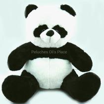 Oso Panda Gigante De Peluche 1.40 M.total Grande Imperdible