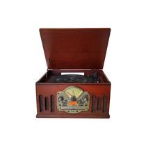 Sistema De Som Hi-fi Ctx Scala 228 C/ Toca Discos, Cd, Rádio