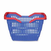 Cesta Cestinha Plastica Supermercado Mercado Direto Fabrica