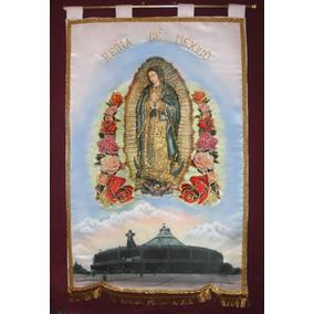 Estandarte Virgen De Guadalupe En La Basilica