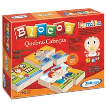 Quebra-cabeças Infantil Família 36 Peças - Xalingo