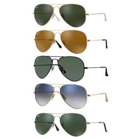 Ray Ban Aviador Rb3025 Polarizados Originales Made In Italy