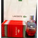Perfume Locion Lacoste Red Rojo Men Hombre 125 Ml Original