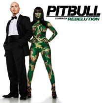 Cd Pitbull Starring In Rebelution Original Excelente Estado