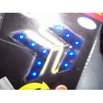 Flechas Ultra Planas Para Adaptarce En Espejos Rojo Y Azul