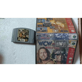Fita Wcw Vs. Nwo World Tour - Nintendo 64 Usada