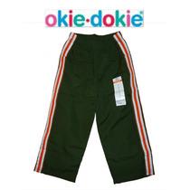 Pantalon Pants 2 Anos Nino(a) Okie Dokie Khaki Naranja Ralla