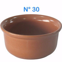 10 Cumbuca Tigela De Barro P/feijoada Molho Sopas N°30 660ml