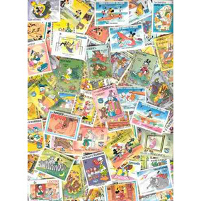 coleccion de timbres de disney