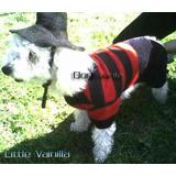 Freddy Krueger Disfraz Halloween P/ Perro Talla Cinco