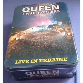Queen + Paul Rogers - Live In Ukraine / Metal Box + T-shirt