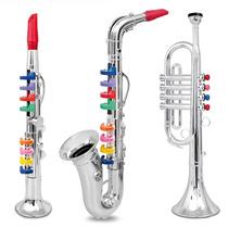 Trompeta Clarinete Saxofon Niños C Canciones Blakhelmet Nex