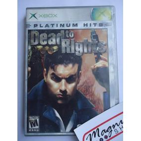 Dead To Rights Para Xbox Prim Gen Clasico Completo Aprovecha