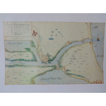 Plano Topografico De Tampico De 1823