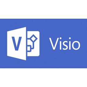 Microsoft Visio 2016 Pro Plus Con Licencia Permanente
