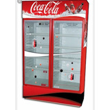 Heladera De Dos Puertas Corredizas De Coca Cola , 180x 160