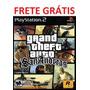 Gta San Andreas (em Português) Ps 2 Game - Frete Grátis