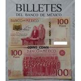 Billete $100 Centenario Constitucion 1917 2017 Banxico Nuevo