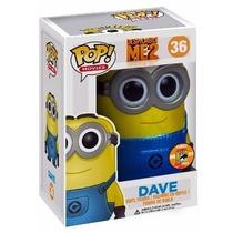 Funko Pop! Serie Movies Figura Dave Despicable Me 2 Original