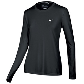 Remera Mizuno Running T-shirt Nirvana Ml Mujer (m413144290)