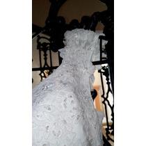 Vestido De Novia De Alta Costura Cauda Larga