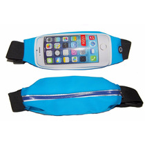 Canguro Bolso Deportes Fitness Running Gym Impermeable Azul