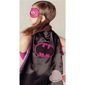 Capa Super Herói Com Máscara - Fantasia Infantil.