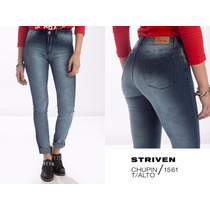 Jeans Striven Mujer - Elastizados - Pack X 5
