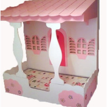 Cama Infantil De Casinha Pra Quarto Feminino - 188x88