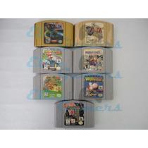 Paquete 7 Juegos N64 Zelda Ocarina Ce, Majoras, Mario Kart,