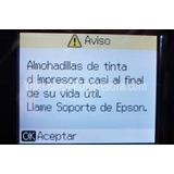Reset Epson R210 R220 R270 R320 L200 Error Almohadillas