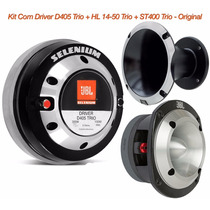 Kit Com Driver D405 Trio + Hl1450 Trio + St400 Trio Original