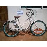 Bicicleta Retro Schwinn Clairmont Dama R26 Nueva