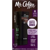 Mr Coffee Molino Electrico De Cafe Con Sistema De Limpieza