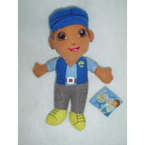 Diego Amigo De Dora La Exploradora Y Botas Con Gorrita Azul