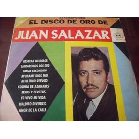 Lp Juan Salazar, El Disco De Oro,