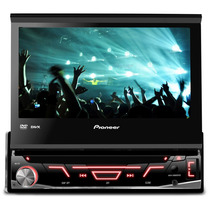 Dvd Player Pioneer Avh-3880 Retrátil 7 Polegadas Usb