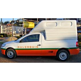 Cpcm05 - Capota De Fibra Carga Alta P/ Saveiro G5 Cab. Esten