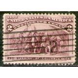 Estados Unidos Sello Usado Descubrimiento De América 1893