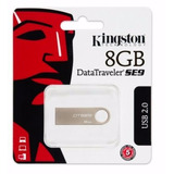 Pendrive 8gb Kingston Usb 2.0