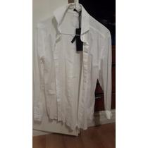 Camisa Blanca Vete Al Diablo Hombre Talle Small