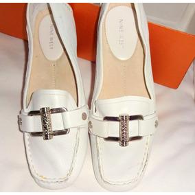 Zapatos Chatitas Mocasín Herrajes Nine West Muy Suaves Impec