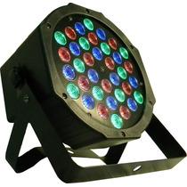 Luz Par Proton Rgb Dj Iluminacion Fiestas Eventos Dmx 36 Led