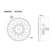 Ventilador (refrigeração Do Motor) Valeo - 698603r