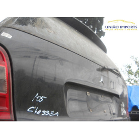 Tampa Traseira Mercedes Classe A 1999/2005 Com Vidro