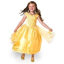 Disfraz Disney Store Vestido Bella Y La Bestia La Película