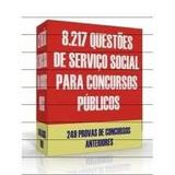 Coletânea 8.217 Questões De Serviço Social Para Concursos