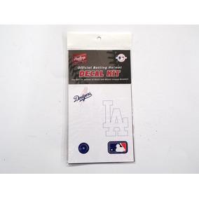 Calcomanias Para Casco De Beisbol Dodgers Rawlings