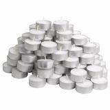 120 Velas Rechaud Brancas Sup. Alumínio - 4hrs !!promoção!!